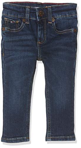 Tommy Hilfiger Jungen Boys Scanton Slim Nyds Jeans, Blau (New York Dark Stretch 911), 164 cm