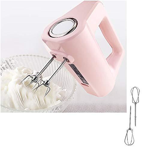 Elektrischer Handmixer 5-Gang Leichter Hand-Schneebesen zum Backen von Kuchen Mini Egg Cream Food Beater
