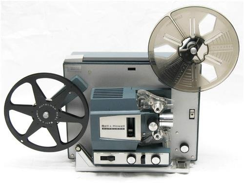 Bell and Howell Super 8MM Autoload Movie Projector (Type II)