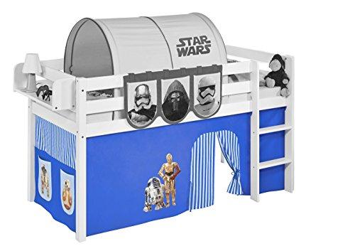 Lilokids Vorhang Star Wars Blau - für Hochbett, Spielbett und Etagenbett