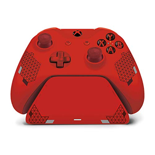 Controller Gear Sport Red Special Edition Xbox Pro Charging Stand...