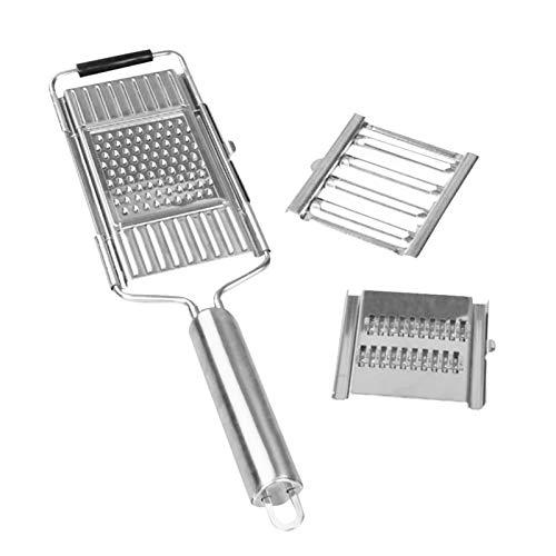Gigant Multihobel Multi-Slicer, Gemüseschneider, Veggie Slicer Handheld, Multifunktions-Küchengerät für Lebensmittelhacker für Obst und Gemüse