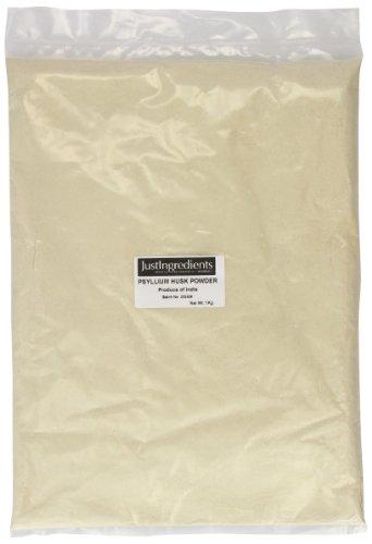 JustIngredients Essential Poudre de glume de psyllium (Psyllium Husk Powder) 1kg