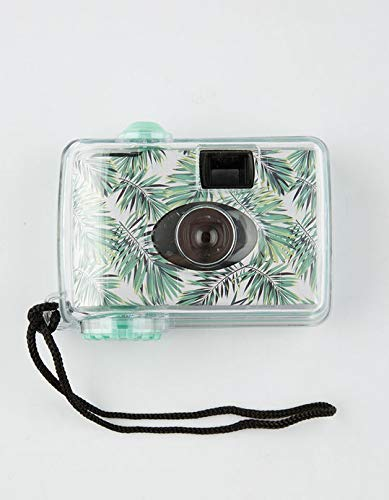 LMNT Underwater Disposable Camera Waterproof 16 Feet 17 Exposure Green Palm Frond 35mm