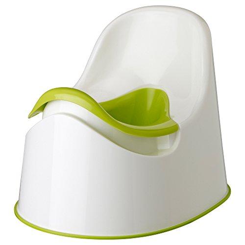 IKEA 601.931.28 LOCKIG - Töpfchen, grün-weiß