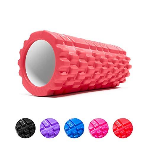 #DoYourFitness Faszienrolle - 34 cm x ø14 cm - inkl. Gratis PDF Übungsbuch - Foam Roller Roller für Faszientraining von Rücken, Wirbelsäule, Nacken & Massage