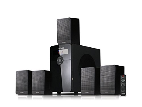 Mitashi BS-120BT 5.1 Home Theatre with 8500 Watts PMPO (Black)