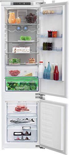 Beko Refrigerador/congelador integrado BCNA306E4FN No Frost/Active Dual Cooling/Pantalla interior con botones de sensor/HarvestFresh/0 °C-zonas/tecnología de puerta fija.