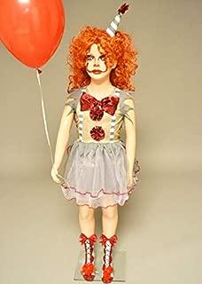 Magic Box Disfraz de niña Estilo Payaso New It para niños con ...