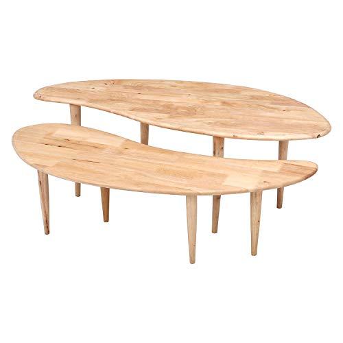 不二貿易 ローテーブル リビングテーブル 幅90cm ナチュラル 木製 COFFEE Natural Signature 37004