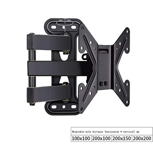 ZXC Home TV-Rahmen Einstellbare nach Links und rechts um 90 ° Teleskop Rotating TV-Ständer Einstellbare Wandhalterung LCD-Rahmen for Wandmontage Startseite Wohnzimmer TV-Ständer (Size : B)