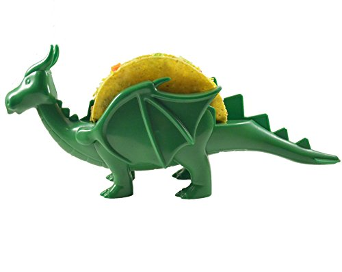 The Taco Dragon - 2 Colors - The Perfect Food Holder for Dragon Lovers