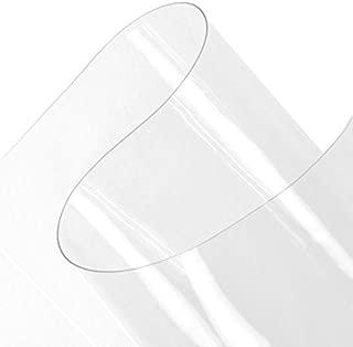 Plastex Fabrics Clear 30 Gauge Vinyl Fabric by The Yard
