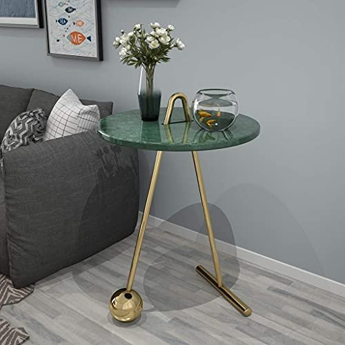 WSHFHDLC coffee table Small coffee table modern coffee table sofa side table coffee table desk waiting area decorated in green living room bedroom balcony small coffee tables