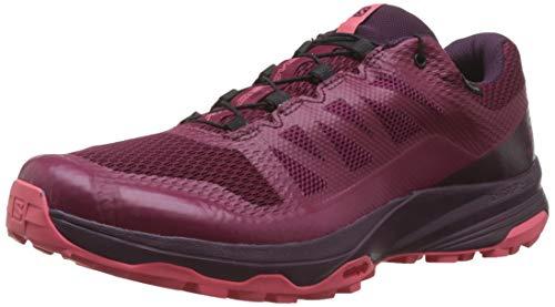 Salomon Damen Trail Running Schuhe, XA DISCOVERY GTX W, Farbe: rosa (beet red/potent purple/calypso coral) Größe: EU 39 1/3