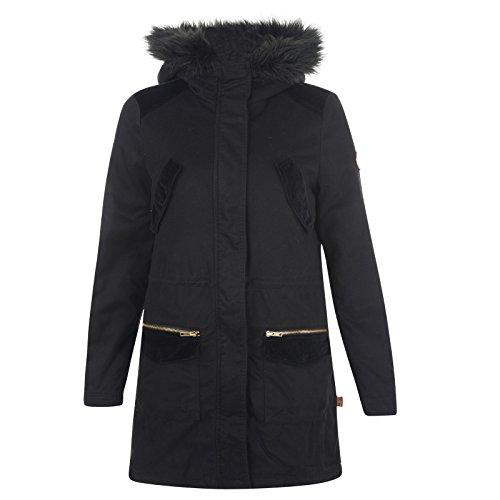 Bellfield Drezna Ladies Parka Jacket Black
