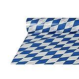"""Tischdecke, Folie 20 m x 1 m """"Bayrisch Blau"""" Oktoberfest"""