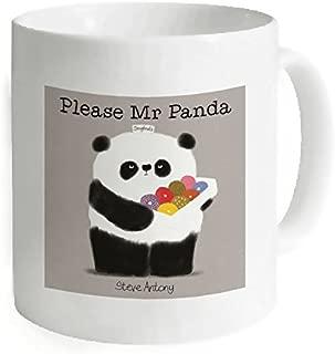 Kdnsgfds Custom Cute Panda White Mug Coffee Mug Tea Cup - Personalized Gift For Birthday,Christmas And New Year-3.7