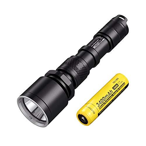 resistente al agua funci/ón de modo memoria Linterna Cree Forrader C8 XP-L HI V3 de ledes con luz potente y muy intensa 5 modos de luz
