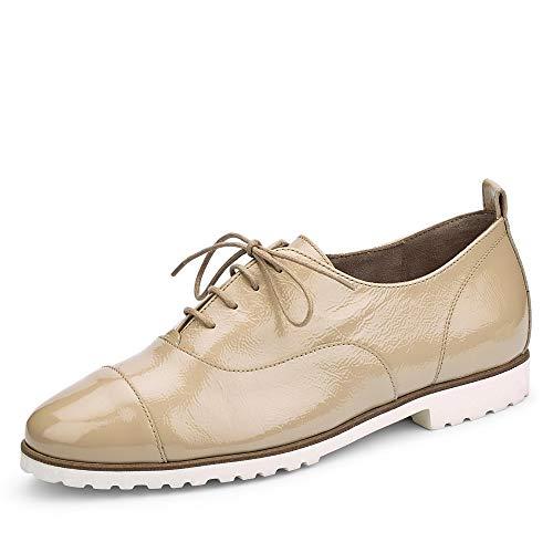 Paul Green 2557 Damen Sneakers Beige, EU 40,5