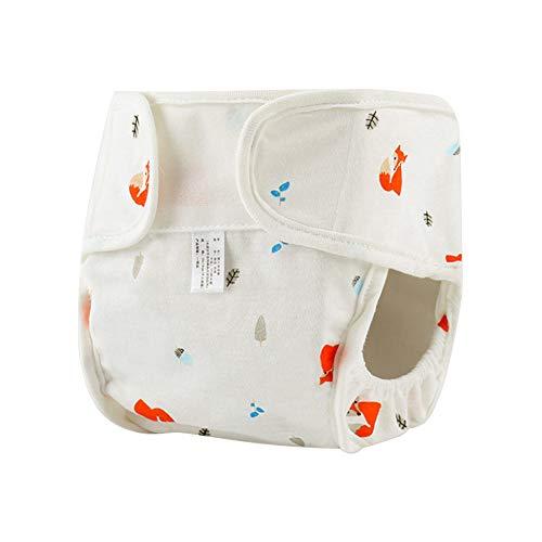 Wasserdichte Baby Stoffwindel, Baumwolle waschbar auslaufsichere Windel Tasche atmungsaktiv Neugeborene Windel