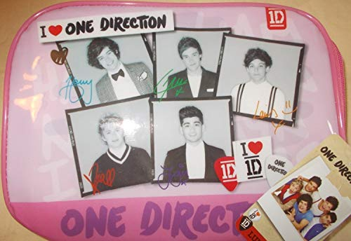 One Direction 'I Love 1D' Pink Brands Rectangle Lunch Bag