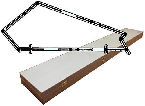 Treppen-WinkelSchablone - im Holzkasten