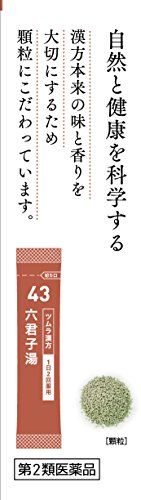 【第2類医薬品】ツムラ漢方六君子湯エキス顆粒10包