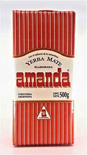 Yerba mate Amanda Roja 500gr
