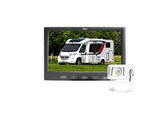 BEEPER Caméra de recul Haute définition Camping-Car écran LED caméra Blanche RWEC110X-N