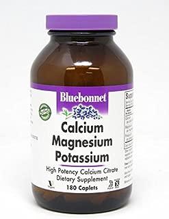 BlueBonnet Calcium Magnesium Plus Potassium Caplets, 180 Count