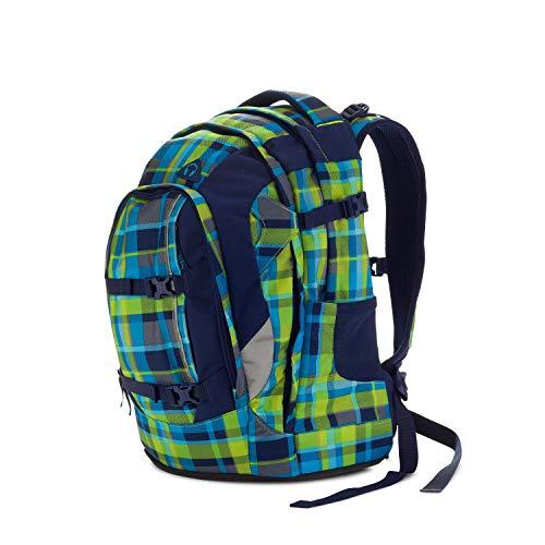 satch Pack Breezer, ergonomischer Schulrucksack, 30 Liter, Organisationstalent, Blau