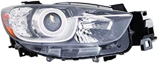 Go-Parts - OE Replacement for 2013 - 2015 Mazda CX-5 Front Headlight Assembly Housing / Lens / Cover - Right (Passenger) Side KJ01-51-031C MA2519146 Replacement For Mazda CX-5