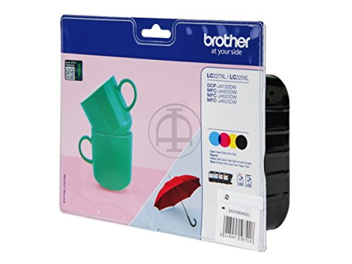 Brother original - Brother MFC-J 4420 DW (LC-227 XL VAL BPDR) - Tintenpatrone MultiPack (schwarz, cyan, magenta, gelb) - 1.200 Seiten