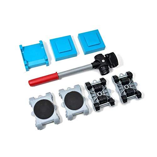 Adatto per divani Roller Move Tools 1 Set Sollevatore per mobili Set di Utensili per Sollevamento e Spostamento di mobili Pesanti durevoli per mobili per mobili Pesanti e Sollevamento di apparecchi