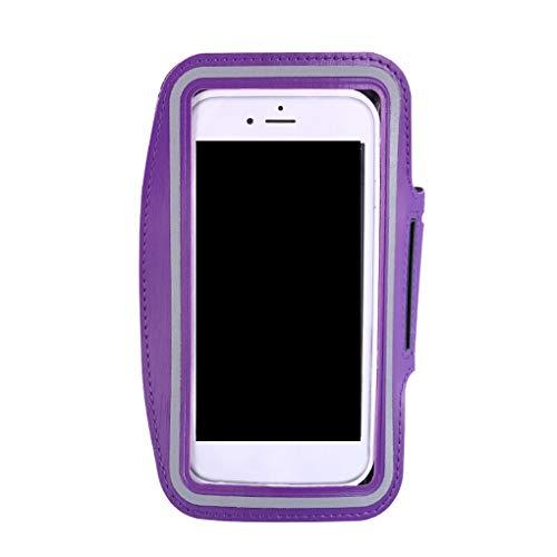 Wmaple wufeng 6 Pulgadas Smartphone Brazalete de teléfono Correr Deportes Correa de la Caja del Smartphone de 5 Pulgadas Brazalete de reemplazo de Fitness móvil para iPhone 6S Plus / 7 Plus