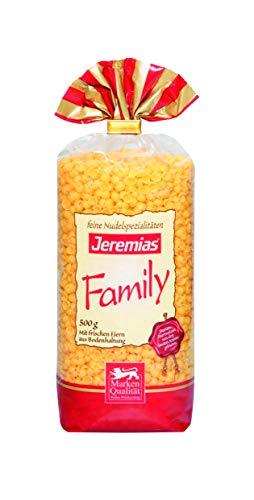 Jeremias Suppen-Muscheln, Family Frischei-Nudeln, 4er Pack (4 x 500 g Beutel)