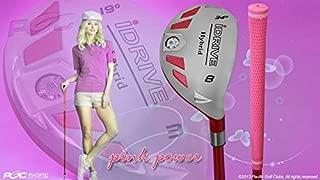 Petite Women's iDrive Golf Club Hybrid #8 Lady Flex Right Handed Utility L Flex Club Perfect for Petite Shorter Women 4'10 to 5'3
