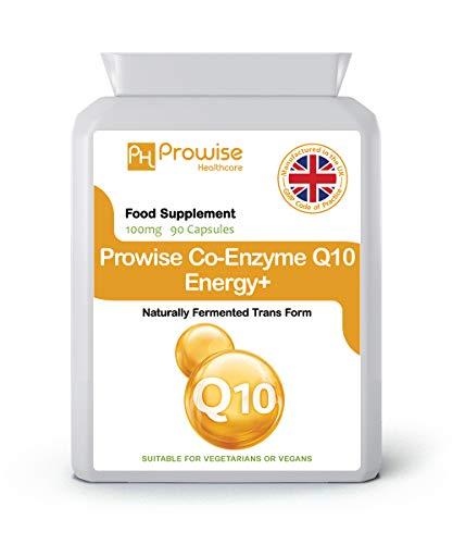 Coenzima Q10 (CoQ10) 100mg 90 Cápsulas Vegetarianas -...