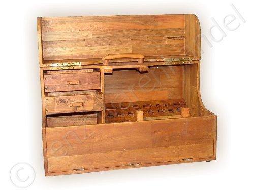Caja de herramientas/sala de hombre de caja de madera: Amazon.es: Bricolaje y herramientas