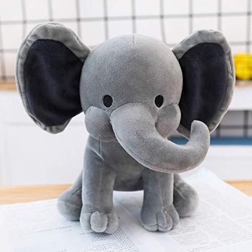 Venta caliente Bebé Elefante de peluche de juguete Animal Elefante Muñeco de peluche Elefante de peluche Almohada suave Juguete para niños Niños Roon Decoración Regalos