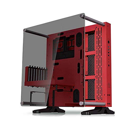 Thermaltake ca-1g4–00m3wn-03Core P3TG Mid tower/wallmount-chassis–rosso