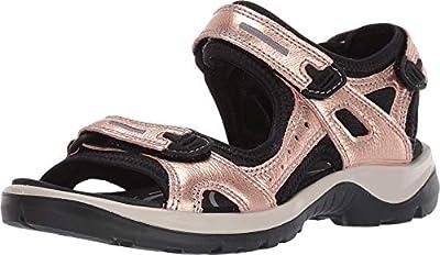 ECCO Offroad Sandal Muted Clay Metallic 37 (US Women's 6-6.5) B (M)