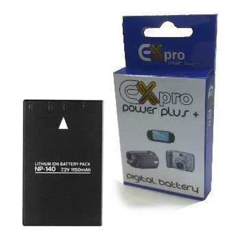 High Power Plus+ 2 Year Warranty Replacement Lithium Li-on Digital Camera Battery for Fuji Finepix :- S100FS S100 FS S200 EXR S200EXR Ex-Pro Fuji NP-140 NP140