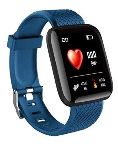 Relógio Smartwatch D13 Notificações Bluetooth azul
