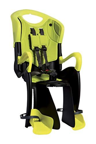 Seggiolino Bici Posteriore Tiger (Max 22 kg) Hi-Viz Yellow