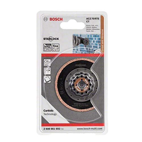 Bosch Pro Segmentsägeblatt für Multifunktionswerkzeuge Starlock (ACZ 70 RT5)