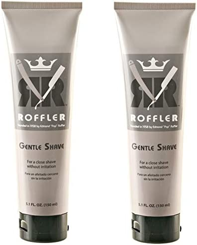 high quality Roffler wholesale Gentle Shave new arrival 5.1oz (Pack of 2) outlet sale