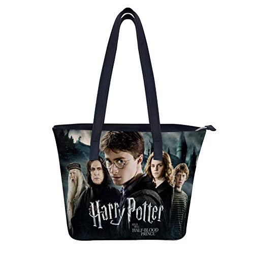 Harry Potter Purses and Handbags for Women Fashion Ladies Leather Top Handle Satchel Shoulder Tote Bags