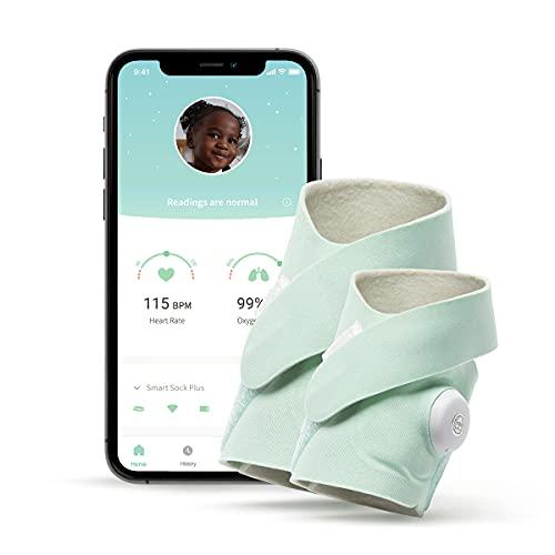 Owlet Vigilabebés Smart Sock 3 - Baby Monitor Inteligente con Frecuencia Cardíaca y Nivel de Oxígeno